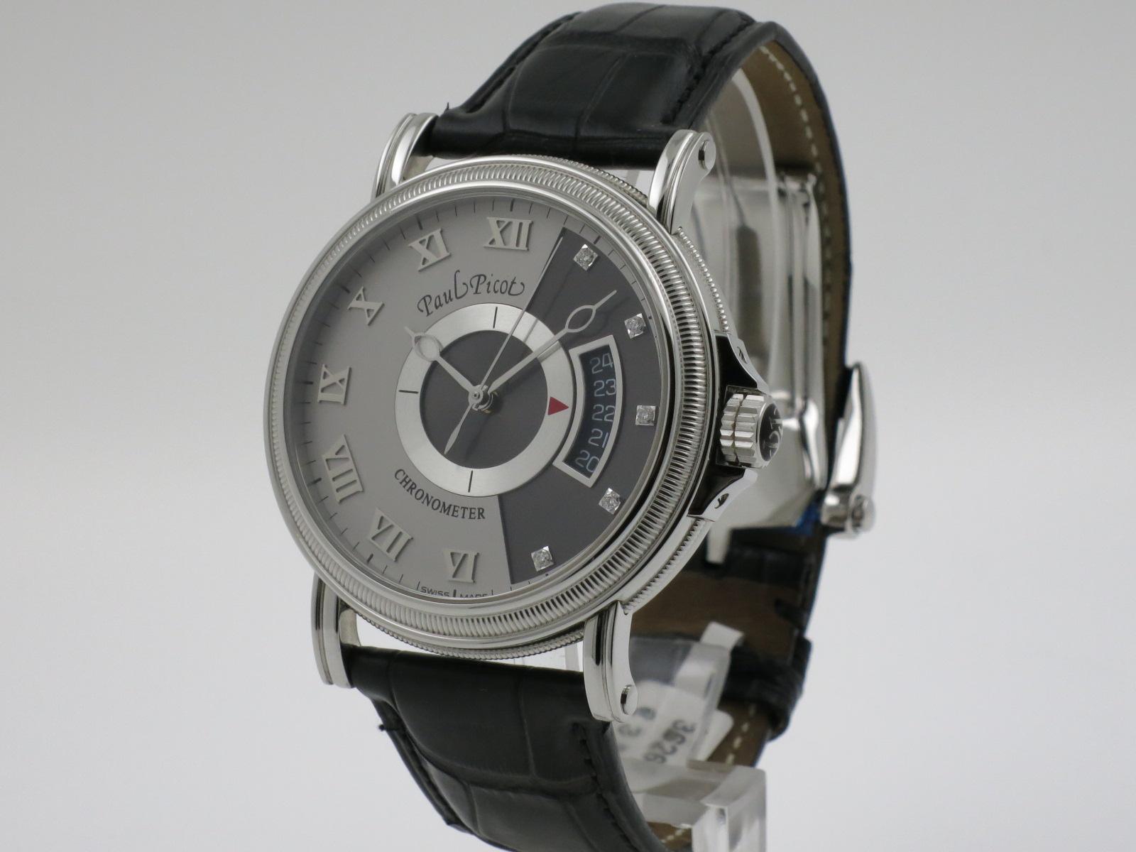 Paul picot atelier 42 classic diamonds index uijen for Horloge atelier