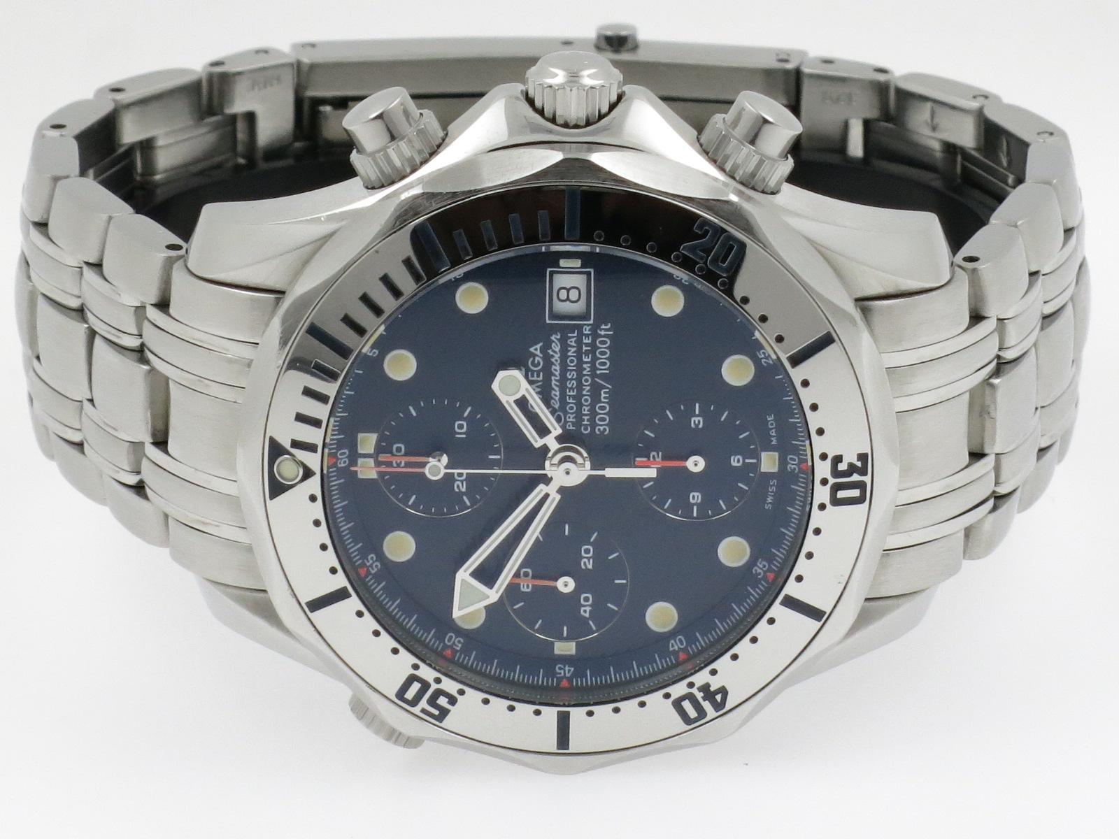 Omega seamaster 300m diver chronograph uijen juweliers for Omega diver
